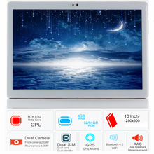 Free shipping S119 10.1′ Tablets Android 8.0 Octa Core 32GB 64GB ROM Dual Camera 8MP Dual SIM Tablet PC Wifi GPS bluetooth phone