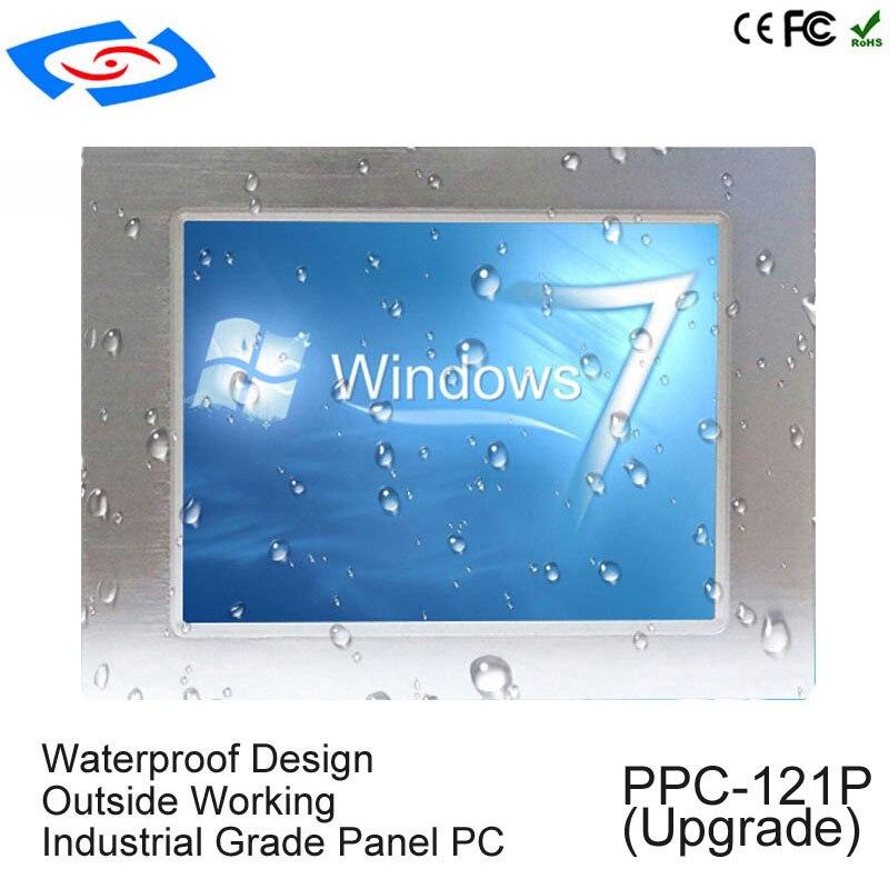 Intel J1900 Quad Core Fanless 12 Inch Industrial Tablet Pc With Rj45 Port Intel Processor