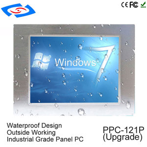 Image 1 - Intel J1900 Quad Core CPU Fanless 12.1 inch industrial tablet pc with 1* rj45 port intel processor touch screen panel pc
