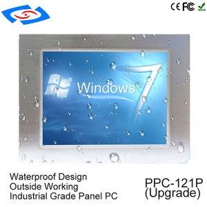 Image 1 - Intel J1900 Quad Core Fanless 12 inch industrial tablet pc with rj45 port intel processor