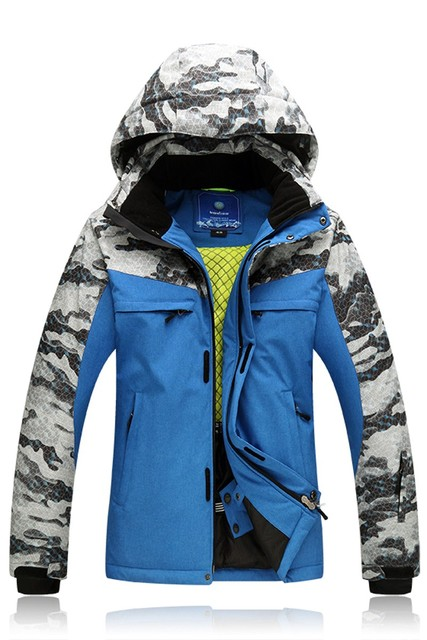 Men Ski Jacket New Style Windproof Waterproof Outdoor Sport Wear Camping  Riding Skiing Snowboard Male Super 3fbcad5a0