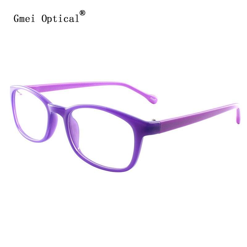 fbabb53b5b Gmei Optical Glasses Purple Magenta Plastic Full Rim Prescription  Eyeglasses Frame Spectacle for Women s Eyewear Fashion T8067-in Eyewear  Frames from ...