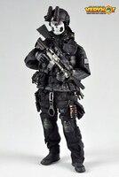 Американский печать спецназ VH ночь группа 1/6 фигурку солдата cqb3.o Военная униформа модель набор игрушек