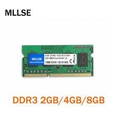 Mllse novo selado sodimm ddr3 1333mhz 4gb PC3-10600 memória para ram portátil, boa qualidade! compatível com todos os placa-mãe!