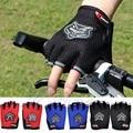 Kris Outdoor Bicycle Unisex Cycling Riding Gloves Mountain Sports Half Finger Anti Slip Gel Pad Motorcycle MTB Road Bike Gloves