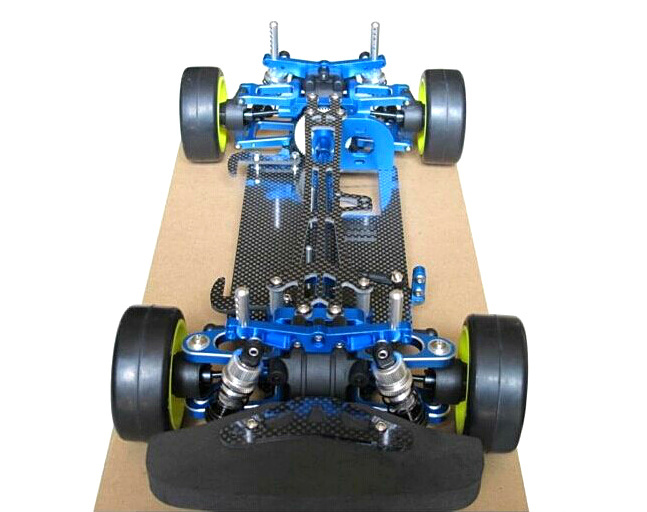 free shipping Alloy & Carbon TAMIYA TT01 TT01E Shaft Drive 1/10 4WD Touring Car Frame Kit modle car bearing sets bearing kit tamiya car ts 02 gti free shipping