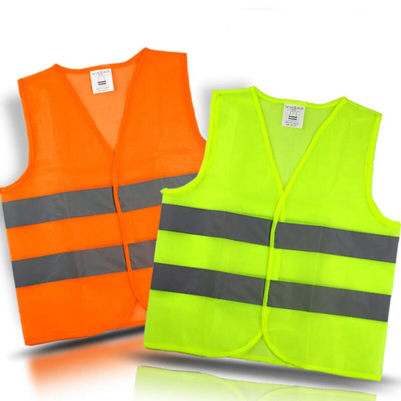 Wholesale Plus Size XXL Reflective Vest Working Clothes Provides High Visibility Day Night For Running Cycling Warning  Vest