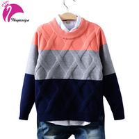 2017 New Kids Sweater Boys Sweater Children Autumn Winter Spring Sweaters And Cardigans Casual Boys Sweaters