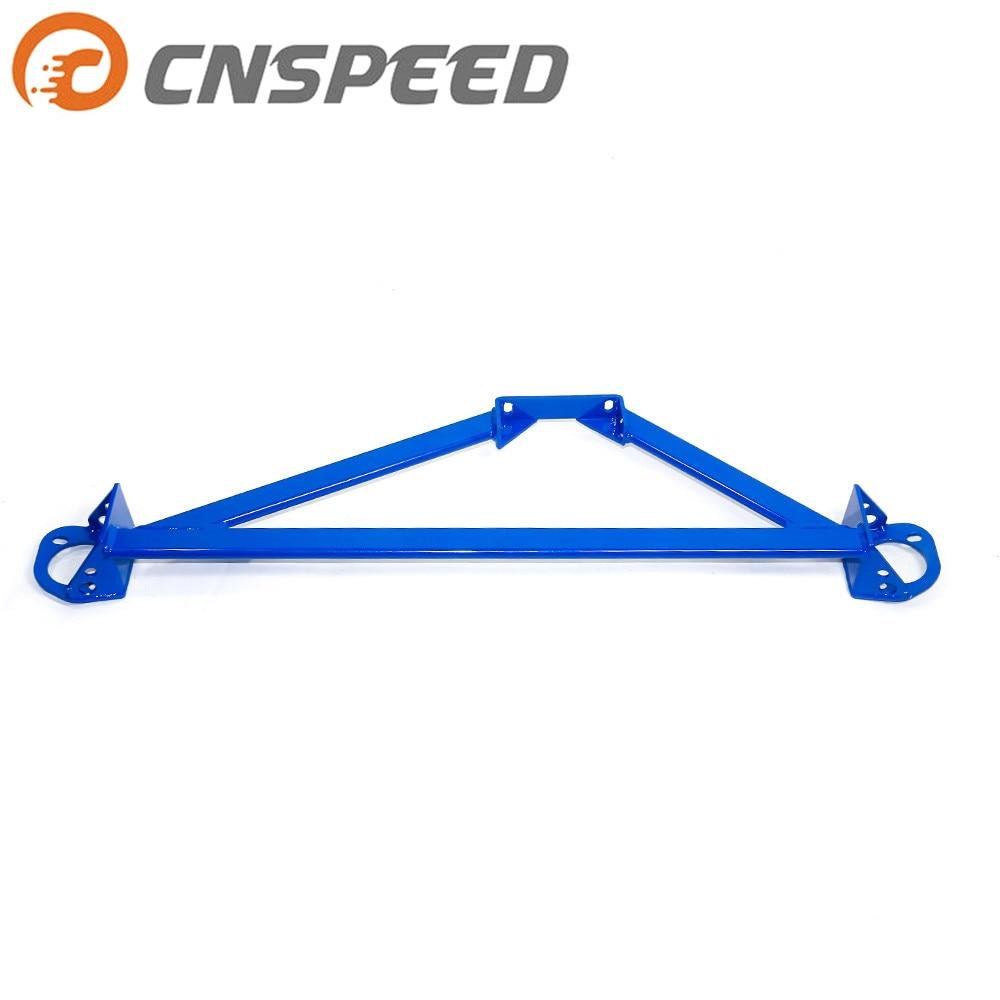 Barra de soporte frontal CNSPEED para Honda Civic 92-00/Del Sol 94-01 Acura Integra EG EK, barra de soporte frontal para torre YC101025