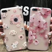 Phone Case Embossed Peach for Apple XSMAX Mobile Shell Translucent 87plus All-inclusive TPU Soft Phonecase