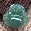 KYSZDL High Quality Hand Carved Natural Stone Pendant Buddha Lucky Women S Patron Saint Stone Pendant