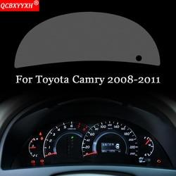Car Styling deska rozdzielcza samochodu farba ochronna folia ochronna naklejki transmisji światła akcesoria samochodowe dla Toyota Camry 2008-2019