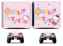Hello Kitty 233 PS4 Pro Skin Sticker Vinyl Decal