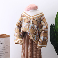 2018 Sweater Woman Easy False Two Paper Korean Autumn And Winter Restore Ancient Ways Keep Pullover Unlined Upper Garment M2655