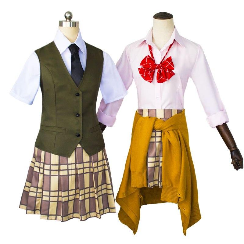 COSREA Citrus Aihara Yuzu Anime Cosplay Costume Fancy School Uniform Suit Dress Costumes Halloween Party For Girl Woman