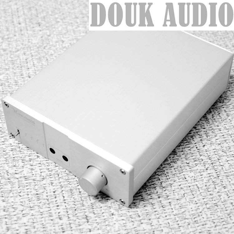 Douk Audio HiFi Headphone Amplifier Class A Stereo RCA Single-Ended/XLR Balanced douk audio pass zen single ended class a headphone amp hifi amplifier board