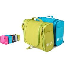 Travel Portable Organizer Bathroom Storage Cosmetic Bag, Hanging Toiletry Bag Wash For Women Vacation New