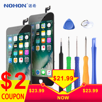 Original NOHON LCD For iPhone 6 6S 7 8 Plus Screen Assembly With Frame 3D Digitizer Display 3D Force Mobile Phone LCDs