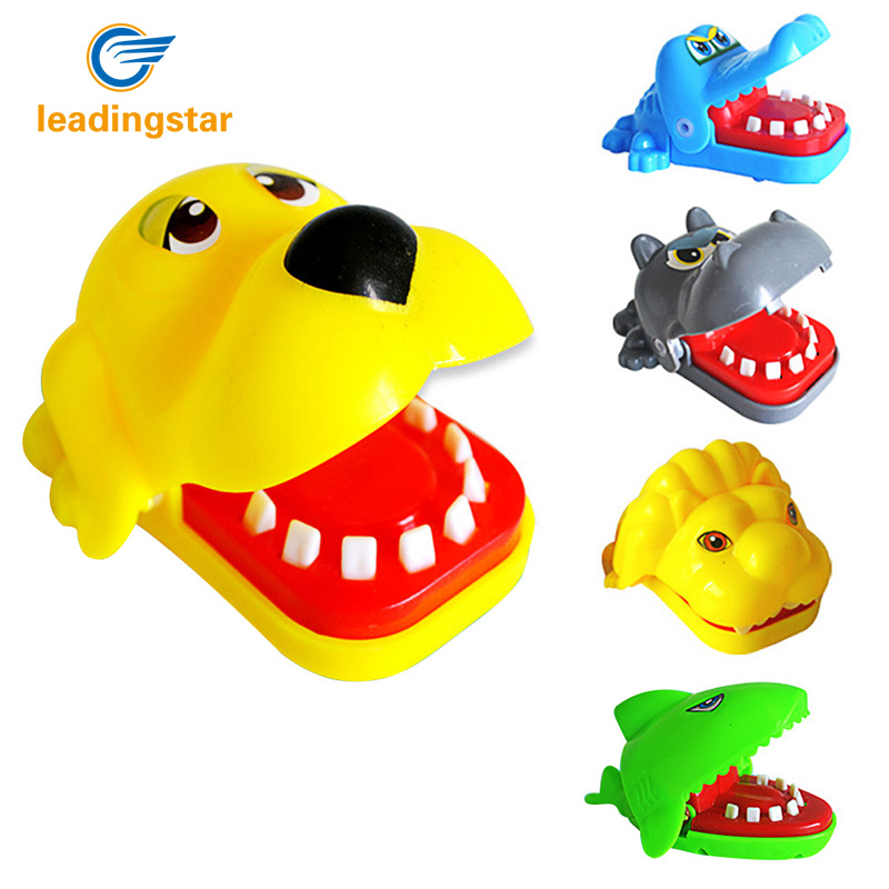 LeadingStar Small Size Mouth Dentist Bite Finger Game Funny Animal Play Kids Gift Educational Toy for Kids Best Gift zk25 ...