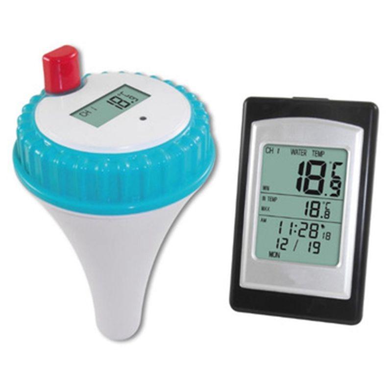 HHO Professional Wireless Digital Swimming Pool Thermometer 1pcs professional wireless digital swimming pool spa floating thermometer new arrival