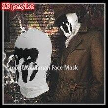 10pcs/lot Top Quality Rorschach Mask Watchman Masks Balaclava Hats Halloween Cosplay Costume Headgear Comic Full Face Mask Toys