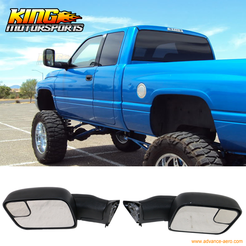 Fit For 94 01 02 Dodge Ram 1500 2500 3500 Towing Mirrors