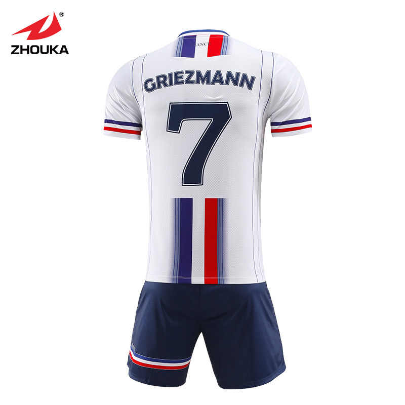 e98e8c822 ... Wholesale Sublimation Printing Custom Futbol Club Team Uniform Football  Shirt Tops Suit Spain Jerseys Soccer Kit ...