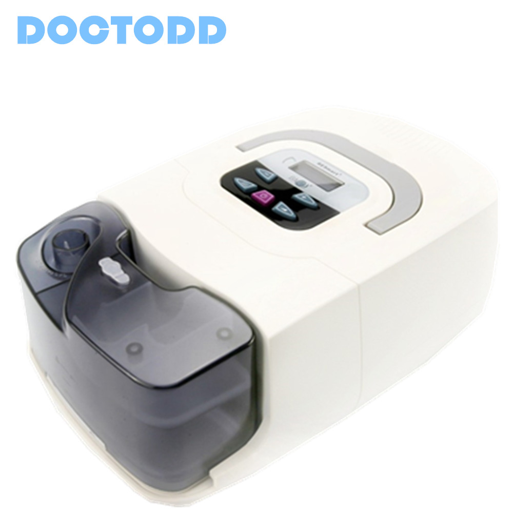Doctodd GI CPAP Portable CPAP Respirator for Sleep Apnea OSAHS OSAS Snoring People W/ Nasal Mask, Headgear, Tube, Bag, etc.
