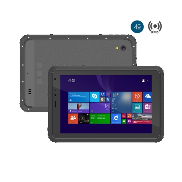 Rfid Nfc Support Windows 10 System Rugged Tablet Pc