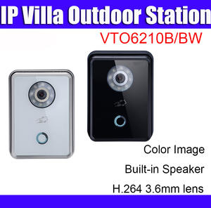 Dahua Video-Intercom Door-Bell Ip-Villa VTO6210B Support Ic-Card Logo Outdoor-Station