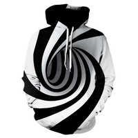 Devin Du hypnose Vortex sweat à capuche hommes femmes grande taille 3d sweat à capuche Whirlpool imprimer drôle Hip Hop survêtement Streetwear
