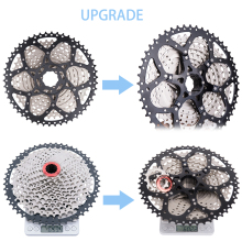 купить MTB 11 Speed Cassette 11s 11-50T L Mountain Bike Freewheel Wide Ratio for parts m7000 m8000 m9000 SUNRACE Bicycle Parts volante по цене 3627.16 рублей