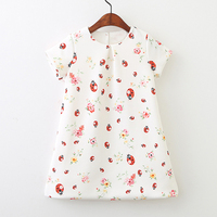 Girls Dress Princess 2018 Brand Summer Toddler Clothes Kids Dresses For Girls Costumes Disfraz Princesa Ladybug