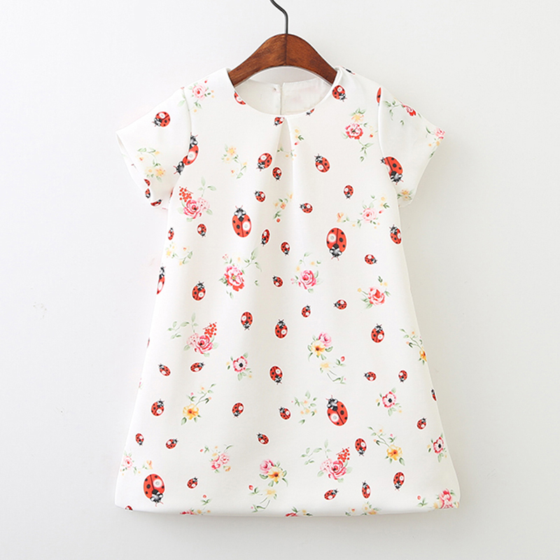 Girls Dress Princess 2018 Brand Summer Toddler Clothes Kids Dresses for Girls Costumes Disfraz Princesa Ladybug Children Dress new girls dress brand summer clothes ice cream print costumes sleeveless kids clothing cute children vest dress princess dress