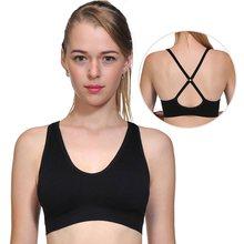 b879860d05540 Women Girls Padded Seamless Bra Vest Tops Rimless Bras Plus Size New  Underwear Bra 70 75