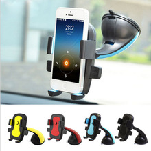 Car Phone Holder GPS Suction Cup Auto Dashboard Windshield Mobile Cell Mount Stand For iPhone 6 6S Plus 5 5S For huawei p9 lite