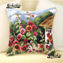 Rug needle cushion mat embroidery yarn landscape pillowcase Counted cro