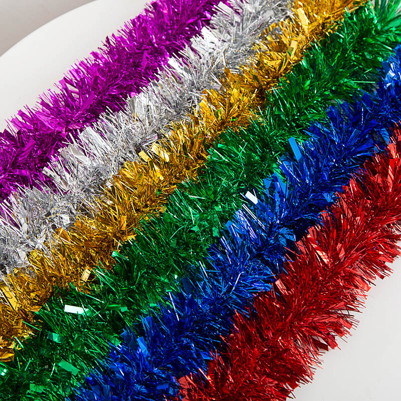 Popular tinsel decorations buy cheap