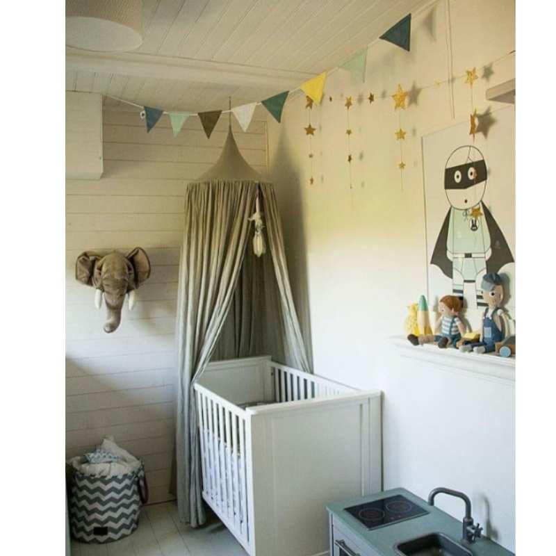 Модули взрыва с Эксклюзивная детская комната купол кровать Шторы палатка 240 см