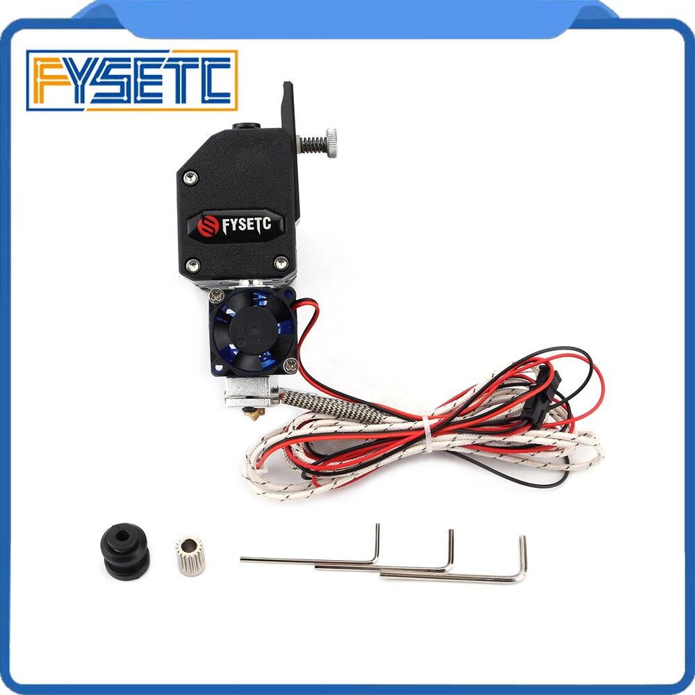 Black BMG EXTRUDER V6 HOTEND Extruder With PT100 Sensor Dual Drive Extruder For Wanhao D9 Creality CR10 Ender 3 Anet E10