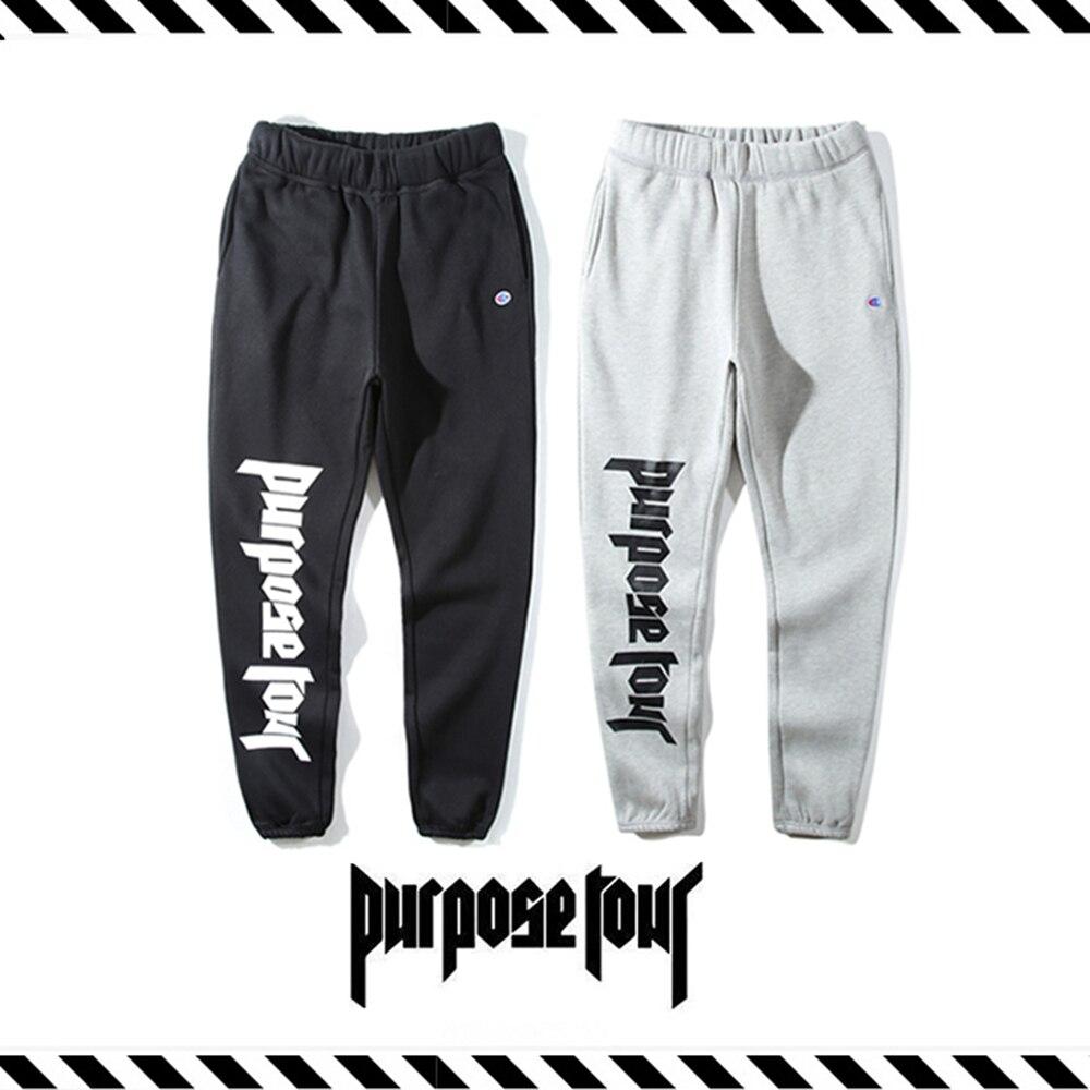 Migliore Versione Nuovo Arrivo 16 Autunno Inverno SCOPO TOUR Stampa pantaloni  della tuta Uomini Donne Justin Bieber Hip Hop Cotone Allentato Jogging ... eb83670a10b