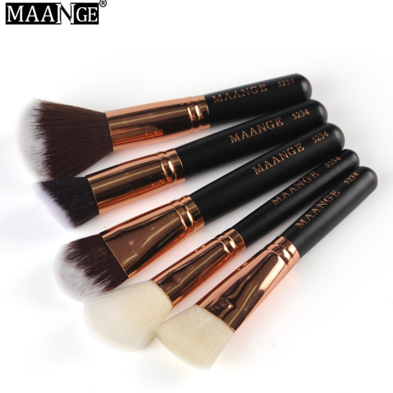 MAANGE New  Makeup Brush 8 PIECES 15 PIECES Makeup Brush Blusher Eye Shadow Brushes Cosmetic Tools Make Up Brush Set 2017 S9 new mini portable make up brush set connectable type eye shadow brush with box eye shadow tools 4pcs set makeup cosmetic brushes