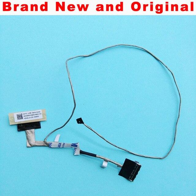 새로운 원래 lcd cabel 레노버 y50 Y50 70 Y50 80 Y50 70AS 노트북 4 k lcd lvds 비디오 케이블 dc02001zb00 zivy2 lvds 40 핀