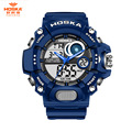 HOSKA Outdoor Kids Children Digital Sport Watch Alarm Date Chronograph LED Back Light 50m Waterproof Wristwatch Student Clock
