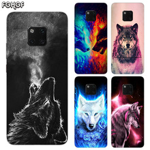 Starry animal wolf TPU Silicone Phone Back Cases For Huawei Mate 20X 20 10 9 Pro 8 7 Shell Hull Heart Bumper Cover
