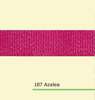 7/8 «дюйма (22 мм) оптовая серебряный блеск Азалия полушерстяной лентой