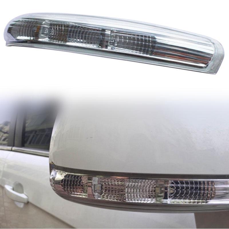 Left LED Side Mirror Turn Signal Indicator Light For Chevrolet Captiva 07-16 2 pcs for skoda octavia superb front turn signal light left and right side wing mirror indicator lamp 3t0 949 101 3t0 949 102