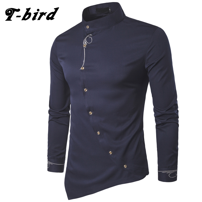 t-camisa-dos-homens-passaro-2017-primavera-personalidade-obliqua-botao-irregular-dos-homens-casual-camisa-de-manga-comprida-casual-slim-fit-masculino-camisas