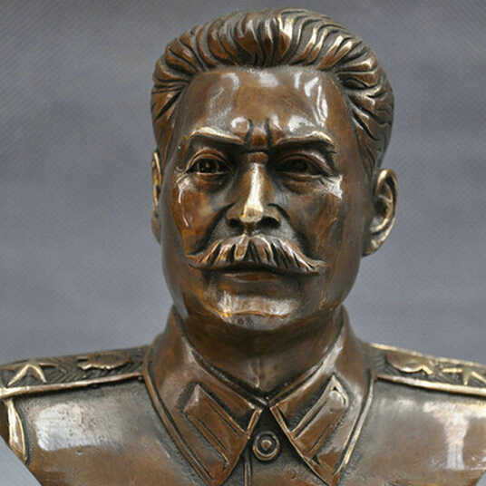 Leader SUIRONG---410 + + + 6 ''Russo Joseph Stalin Busto Statua di Bronzo