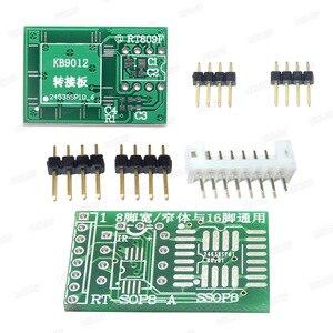 Image 2 - RT809H EMMC Nand FLASH Programmer +16  Adapters +TSOP56 TSOP48  SOP8 TSOP28 Adapter+ SOP8 Test Clip WITH CABELS EMMC Nand